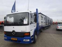 camión transportador de coches Mercedes Benz MERCEDES ATEGO 1528 MANUEL-GEARBOX 2000