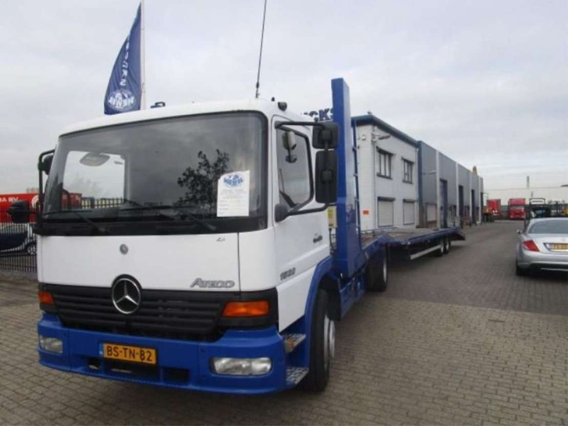 car transporter truck Mercedes Benz MERCEDES ATEGO 1528 MANUEL-GEARBOX 2000