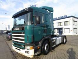 cabeza tractora Scania 114-380 4X2 MANUEL-GEARBOX 2004