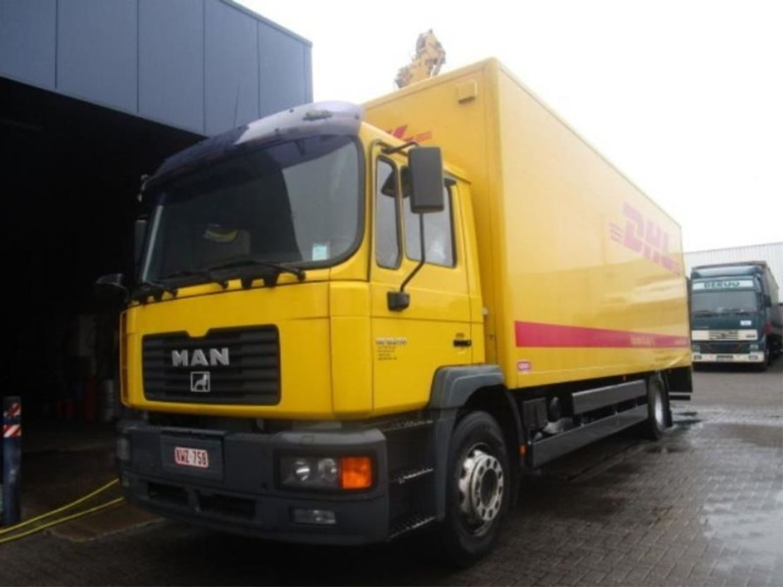 closed box truck > 7.5 t MAN MAN 18.250 2003