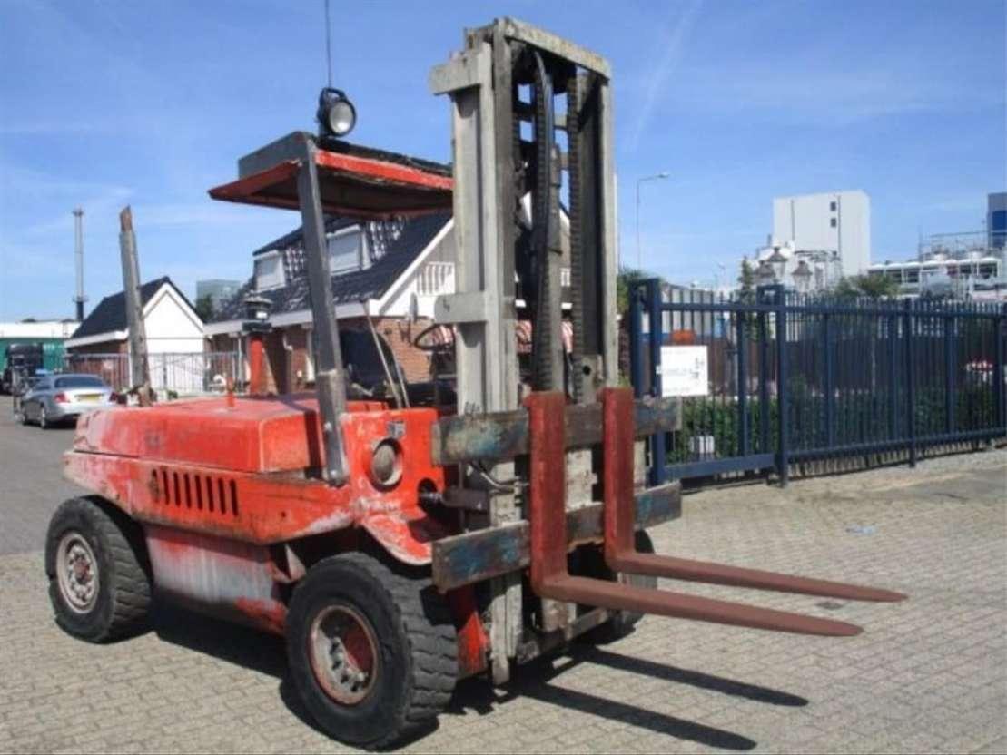 vysokozdvižný vozík Linde HEFTRUCK LINDE H.70.D 1988