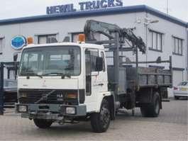 camión de volquete Volvo VOLVO FL6-14 4X2 KIPPER KRAAN 1989