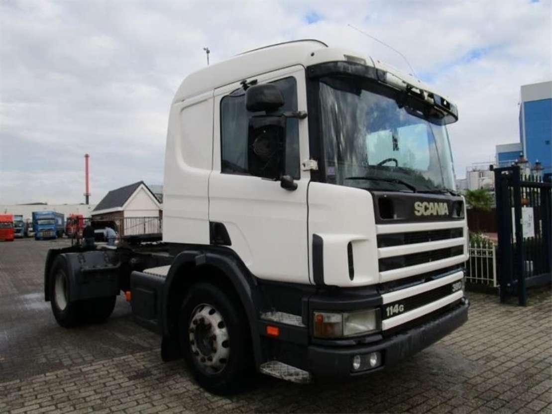 cabeza tractora Scania SCANIA  114/380   MANUEL-GEARBOX 1999