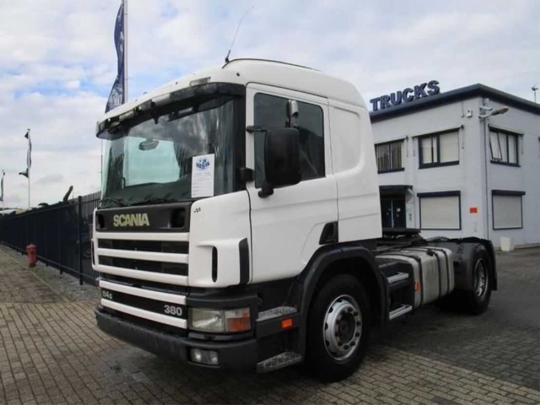 trattore stradale Scania SCANIA  114/380   MANUEL-GEARBOX 1999