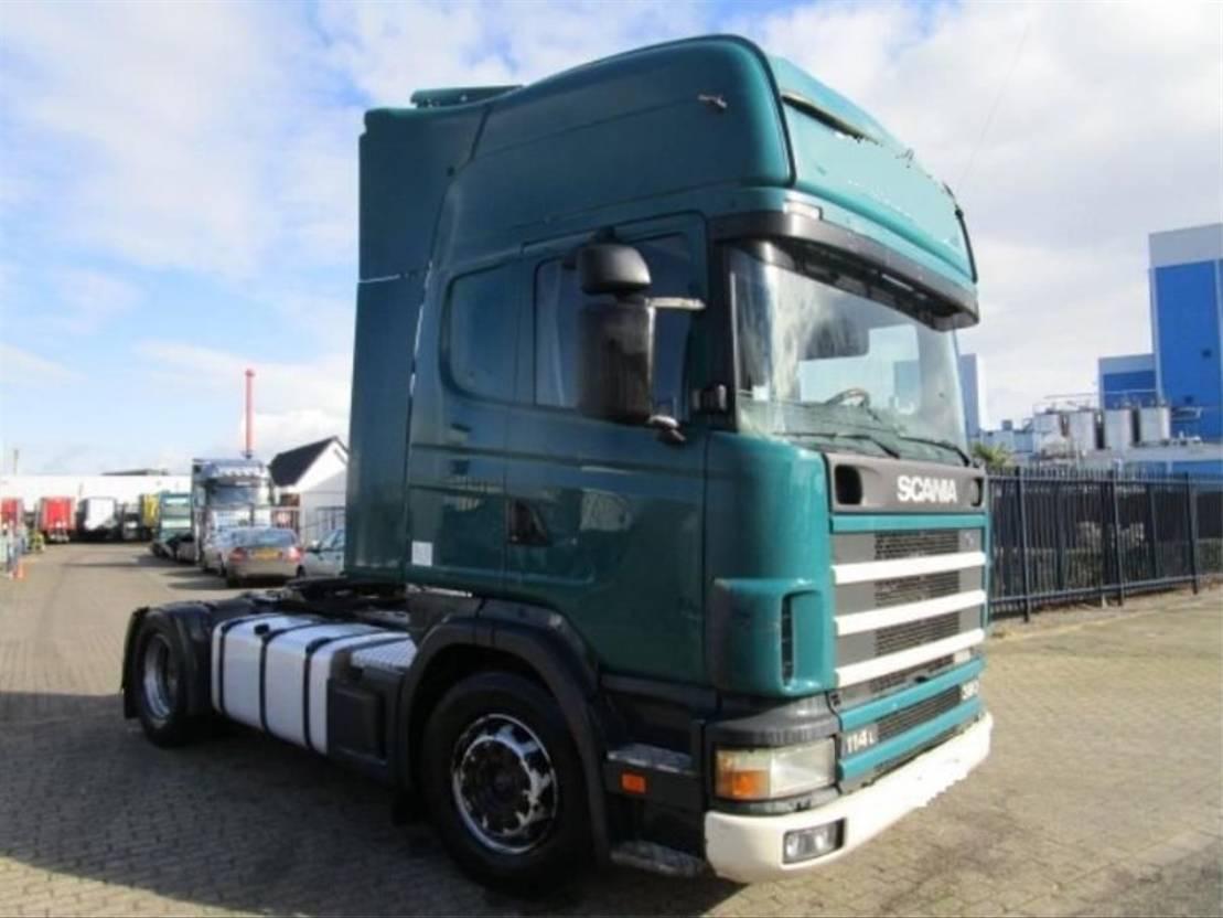 tracteur standard Scania SCANIA 114.380   **RETARDER** 2002