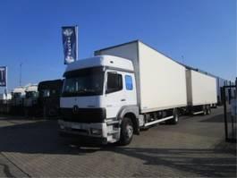 camion à box fermé > 7.5 t Mercedes Benz 1833 LL 4X2 2003