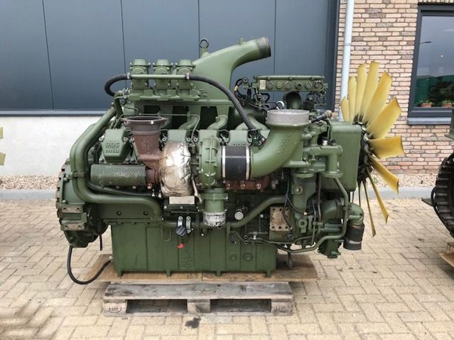 DIV  MTU 12V 2000 633 PK Diesel Engine | Construction machinery | Homborg  Industrial Machinery