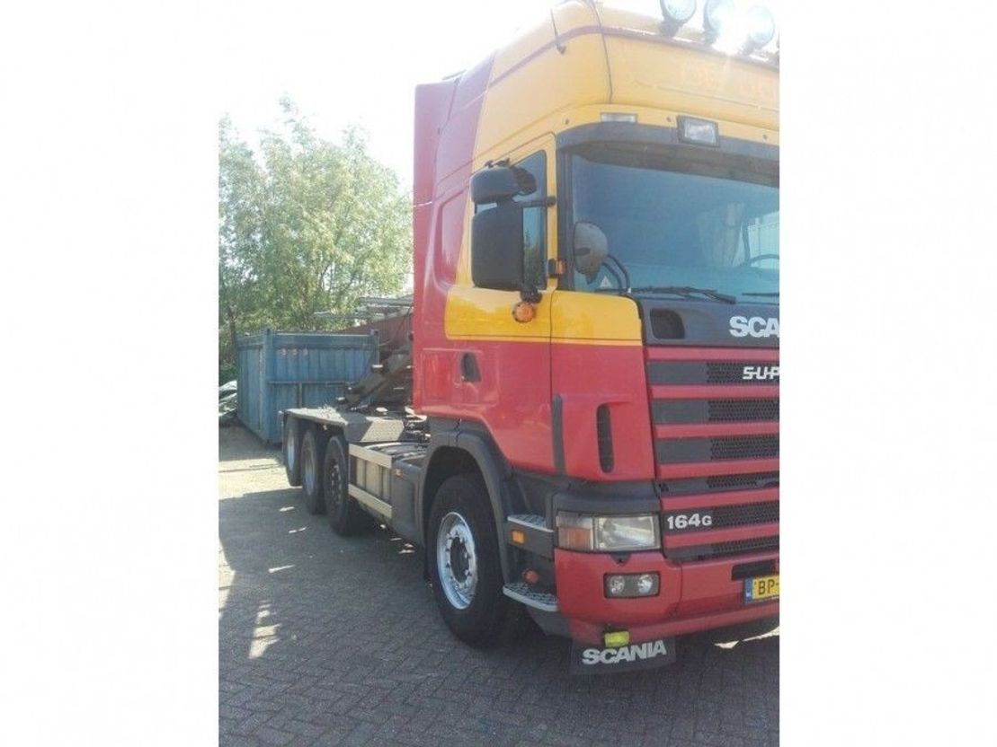 LKW Kipper > 7.5 t Scania R164  480 pk 2005