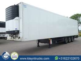 refrigerated semi trailer Schmitz Cargobull SKOF 27 dhollandia lift 2008