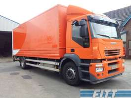 closed box truck Iveco AD190S31/P EURO 5 - hoog 2006