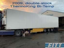 naczepa chłodnia Schmitz Cargobull ThermoKing 2 Temp, double stock 2009