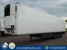 refrigerated semi trailer Schmitz Cargobull SKO 24 DOPPELSTOCK carrier vector 1550 2014