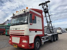 container truck DAF XF 95.430 8x2/4 Manual Gearbox NCH Containersystem 2004