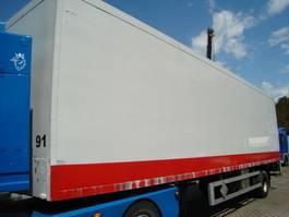 closed box semi trailer GS Meppel gesloten 1997