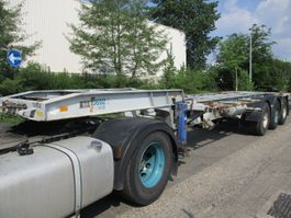 chassis semi trailer Pacton 3139C-2-S 1986