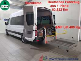 autobús taxi Mercedes Benz 315 CDI/A 5x Rollstuhl + 7 Sitze el. Rampe Klima 2008