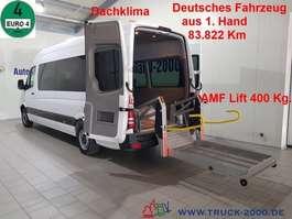 autocarro táxi Mercedes Benz 315 CDI/A 5x Rollstuhl + 7 Sitze el. Rampe Klima 2008