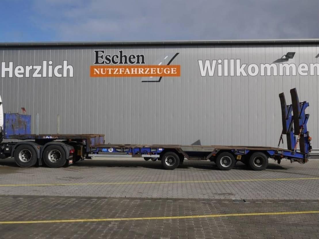 Tieflader Auflieger Müller-Mitteltal TS 3 Kompakt 30.0, Telesattel, Hydr. Rampen, verbreiterbar, ausziehbar, Luft 2010