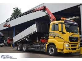 автосамосвал MAN TGS 26.360, 17 t/m HMF, Euro 5, 6x2, Truckcenter Apeldoorn 2010