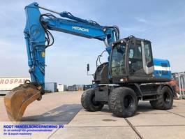 wheeled excavator Hitachi ZX 140w-3 VERY GOOD!! 2012