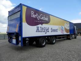 closed box semi trailer Draco 2-assige oplegger 2000