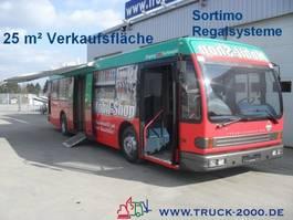 autocaravane DAF Mobiler Sortimo Verkaufsraum 25m² Messe 1998