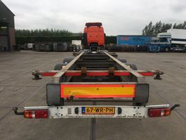 swap body trailer Sommer ZW 18 T / CONTAINER TRANSPORT 2012