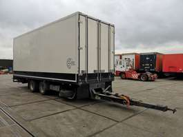 closed box trailer Draco DAMT 1800 / FLOWERS TRANSPORT / HEATING / LIFT 1992