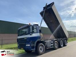 tipper truck > 7.5 t Ginaf X 4446 TS 8x8 manual euro 5 tipper 2007
