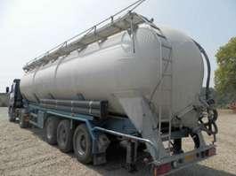 semi-remorque de transport de produits alimentaires Gofa 3-assige oplegger 1996