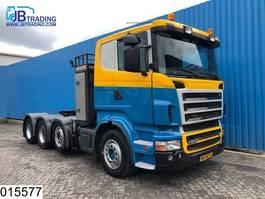 cab over engine Scania R 500 8x4, V8, Manual, Retarder, Adjustable dish, Airco, Hub reduction 2006