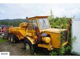 camión volquete de rueda Kockum K-414 dumper 6x6 1979