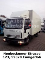 closed box truck Iveco ML 80 E18 LBW AdBlue