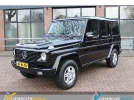 coche particular todoterreno 4 x 4 Mercedes Benz G 320 CDI Lang facelift 2007
