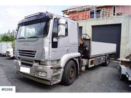автокран Iveco Stralis planbil m/ Effer 18 t/m kran 2007