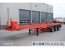 container chassis semi trailer Pacton 3139-C-4-K   20-30-40ft TIPPER * STEEL SUSPENSION 1989