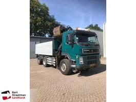 tipper truck > 7.5 t Terberg FM1350 6x6 kipper met HMF Z-kraan 2009
