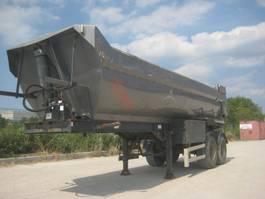 tipper semi trailer MOL K85F / 20T Staal Kipper 2001