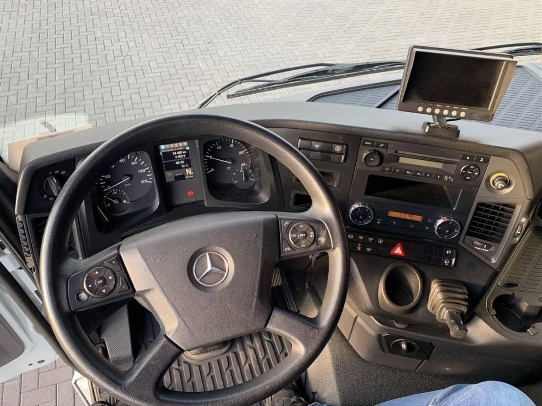 Kranwagen Mercedes-Benz Arocs 4451 8X4 + FASSI 1650 RAL2.28 XHE +JIB L616L KRAAN/KRAN/GRUA 2017