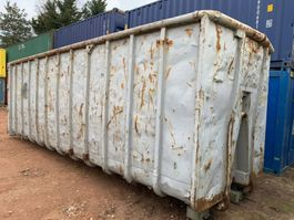open top shipping container Winters Afvalcontainer 40m³