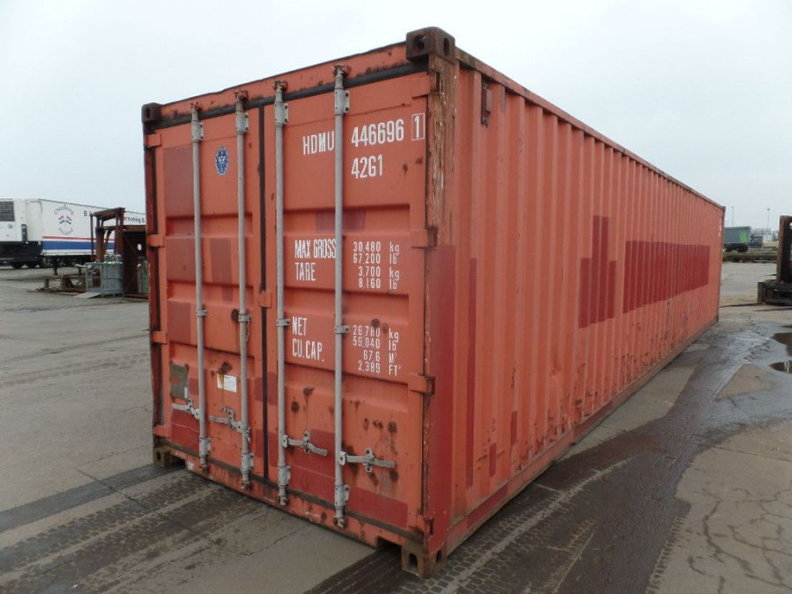 Container system truck part Diversen VERNOOY ZEECONTAINER 40 FT 446696