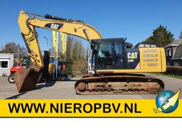 crawler excavator Caterpillar graafmachine 329EL  bouwjaar 2014 nederlandse machine 2014