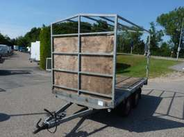 flatbed car trailer Hapert plateauwagen 1990