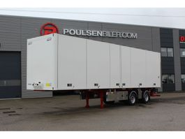 closed box semi trailer Ekeri City box with opening side 2020