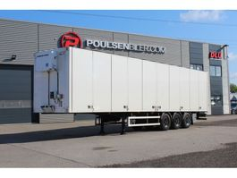 closed box semi trailer Ekeri Opening side with HeatKing 400 2012