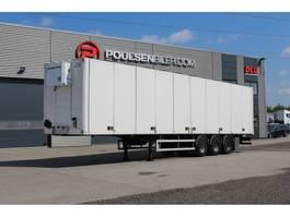 closed box semi trailer Ekeri opening side HeatKing 400 2012