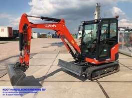 mini digger crawler Kubota KX 030-4 KX 030-4 Minigraver NIEUWSTAAT!! 2018