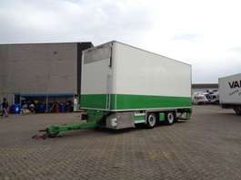 closed box trailer Chereau RW18 + 2axle + lift 2002