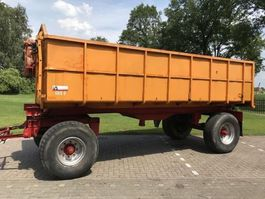 tipper trailer Bladvering
