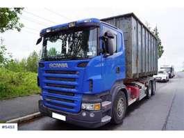 container truck Scania R470 m/Palfinger krok 2006